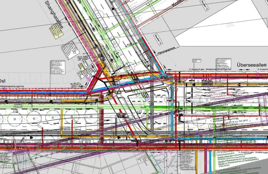 Leitungstrassenplan