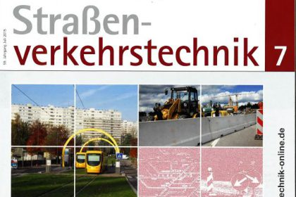 Straßen-Verkehrstechnik Juli 2015