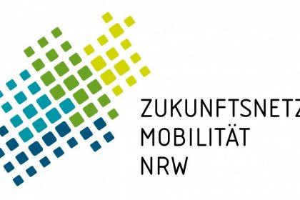 Logo Zukunftsnetz Mobilität NRW